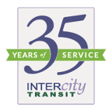 Intercity Transit, 35 years of service