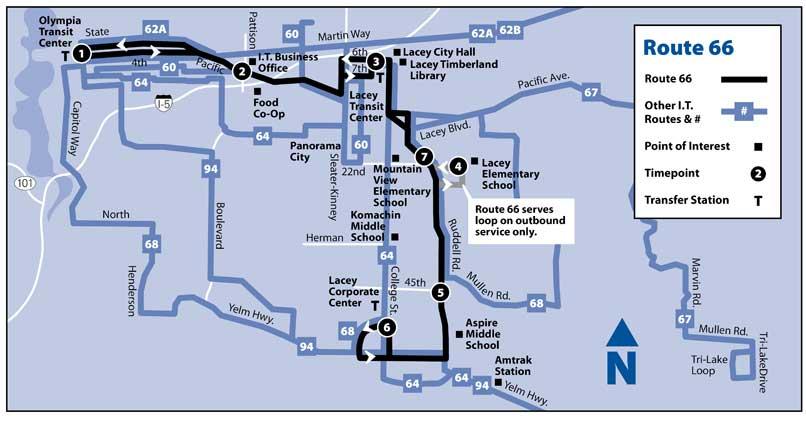 66 Intercity Transit