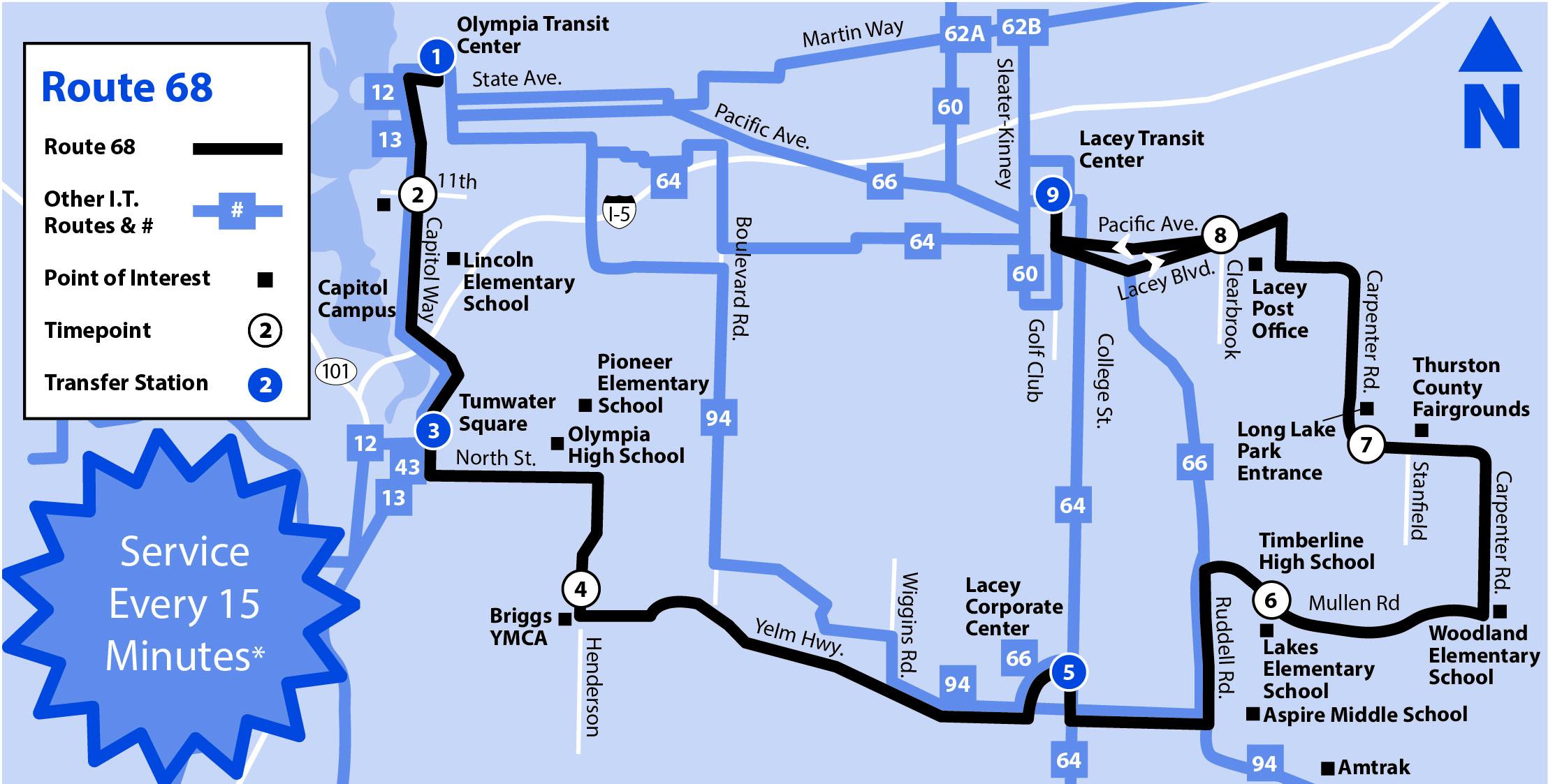 68 Intercity Transit