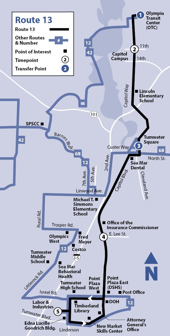 13 Intercity Transit