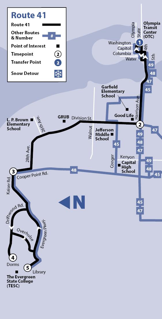 41 intercity transit