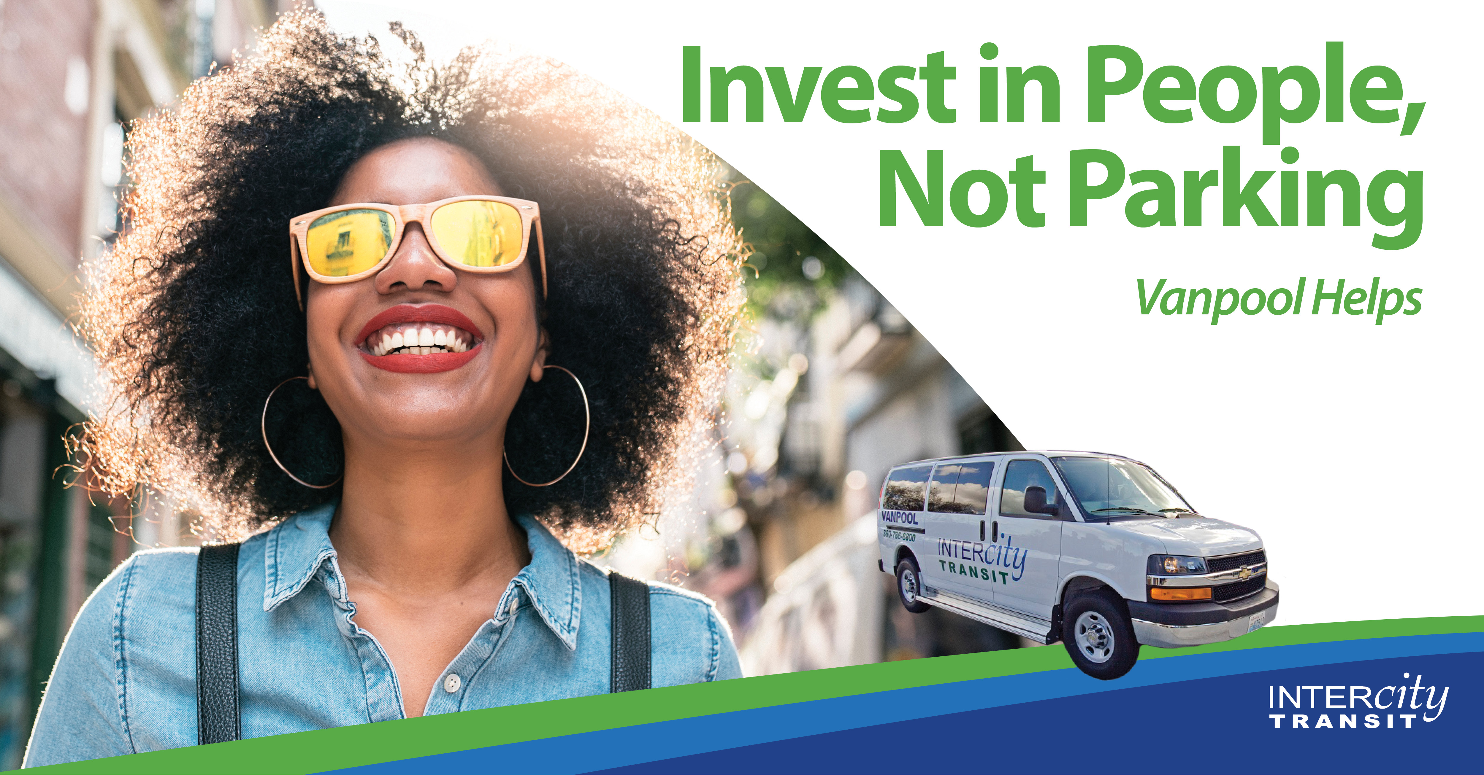 Invest in People, Not Parking - Vanpool helps