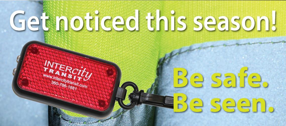 Get noticed this season. Be safe. Be seen.