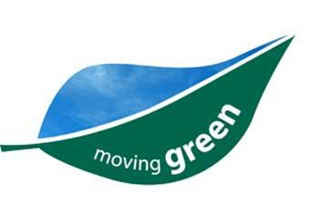 "Intercity Transit Sustainability Logo, ""moving green"""