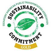 Signatory American Public Transportation Association Sustainability Commitment Gold